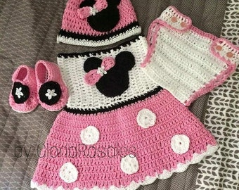 Minnie Mouse set for girl