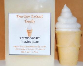 French Vanilla Shaving Soap 4.5oz