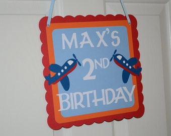 Airplane Door Sign, Airplane Theme, Airplane Party, Airplane 1st Birthday, Airplane Theme