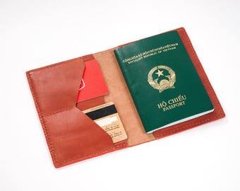 Passport Wallet Leather Pattern 5