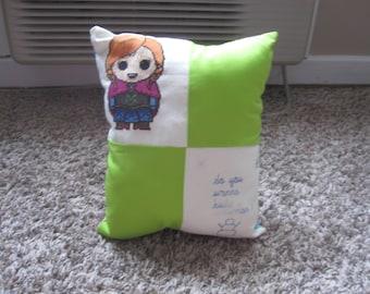 Anna Do you wanna build a snowman Pillow
