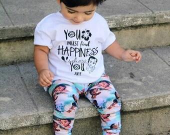 Moana Children's Girl Shirt, Moana Shirt, Moana Onesie