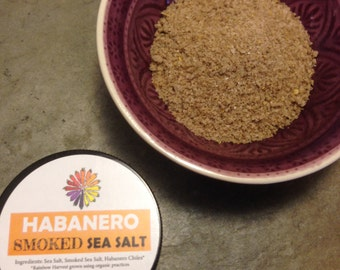 Habanero Smoked Sea Salt