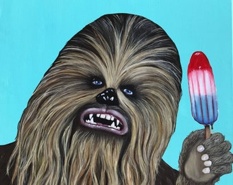 Wookie At My Popsicle