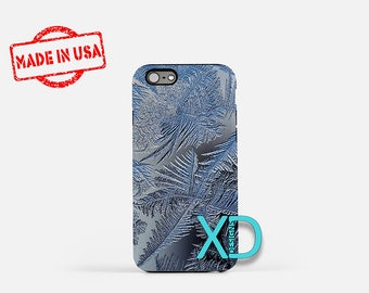 Frost iPhone Case, Winter iPhone Case, Frost iPhone 8 Case, iPhone 6s Case, iPhone 7 Case, Phone Case, iPhone X Case, SE Case