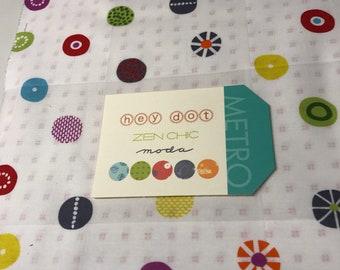 Moda-Hey Dot-Zen Chic-Layer Cake #1600LC
