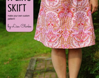 Easy A-Line Skirt Sewing Pattern and Tutorial