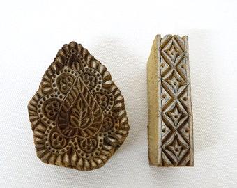 Wooden Print Blocks (PB#5) from India