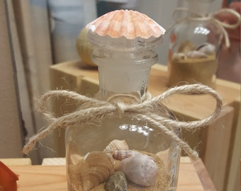 Beach sand bottle