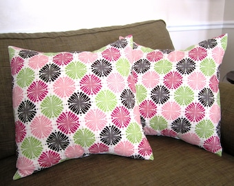 Set of 2 Pillow Covers -- 18 Inch