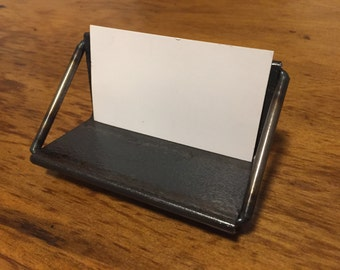 Business Card Holder Angle Iron