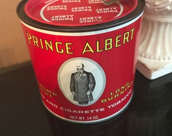Prince Albert Tobacco Canister