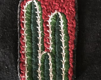 Mexican Fence Post Embroidered Patch