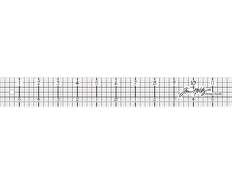 Idea-Ology Design Ruler 12' by Tim Holtz
