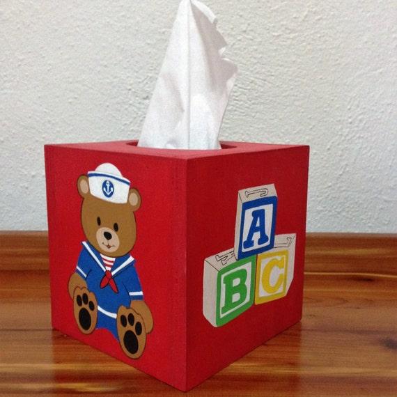 Tissue Box Cover,Kleenex Box Cover,Kleenex Box Cover for nursery,Tiisue Box Cover for Child's room,Children's decor,Child's Tissue Box
