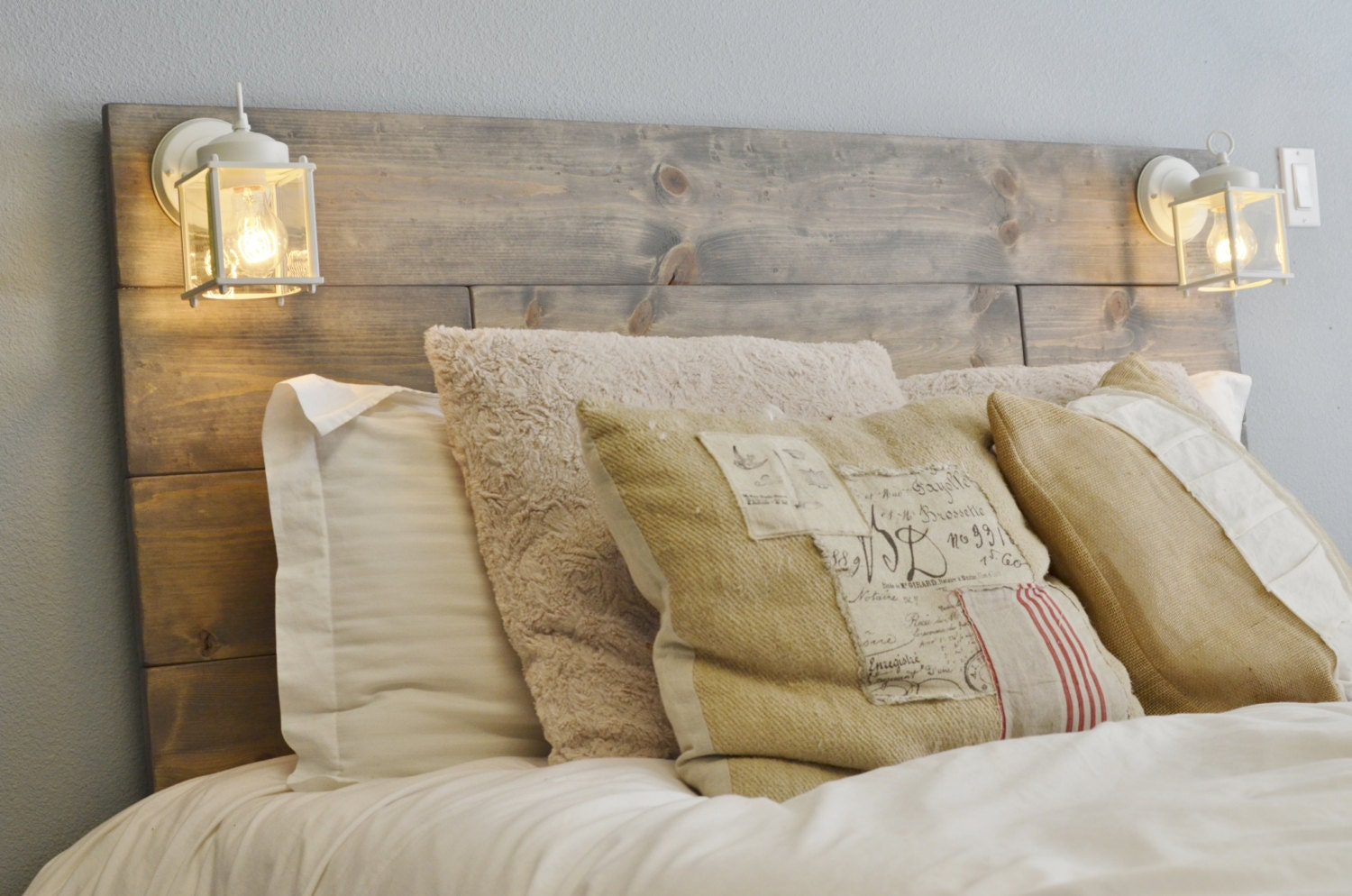 apartment headboards live decorating wooden reclaimed watch style youtube your headboard small rustic wood diy