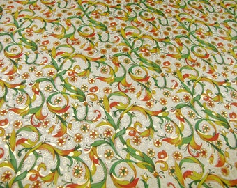 Giardino - Florentine wrapping paper with Golden printing
