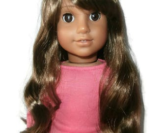 American Girl Doll Size Wig 10-11""