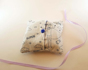 Cover and its washable wipes mini size