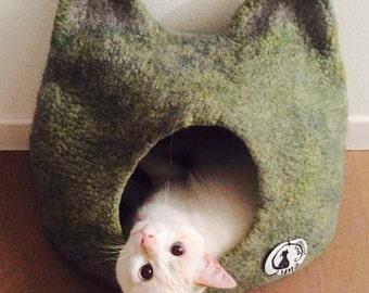 Cat cave, cuccia  per gatto -tana per gatto - Jellicle cave