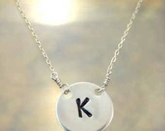 The Lucky Initial Necklace