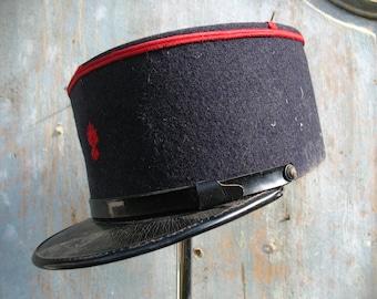 French fire brigade Cap, 1940s