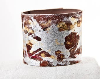 Leather Jewelry, Leather Bracelet, Leather Wristband, Leather Cuff Present