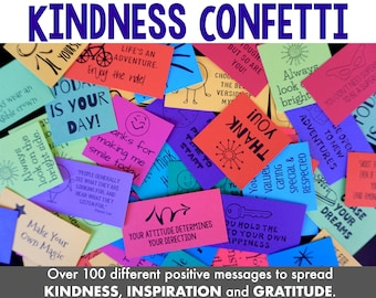 Kindness Confetti Cards
