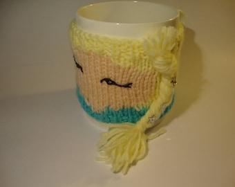 Elsa mug cosy