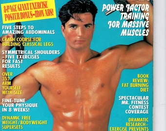 Exercise For Men Only  magazine- february  1995 - vol 11 -issue #1/ health and fitness