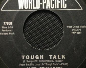 Vintage Record/ Jazz Crusaders/ Tough Talk/ The Thing Original 45