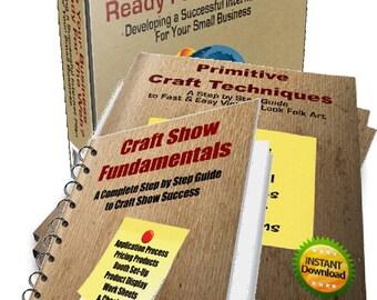 Small Business Success, Craft Business Guide, Internet Plan for Small Business, Craft Show Success, E-Books, Bundle of Books for Success
