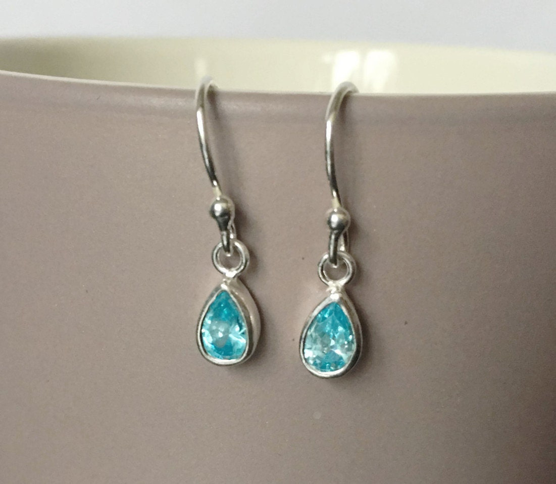 small aquamarine g handmade rough leverback earrings sterling er raw silver products genuine