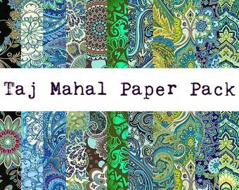 Taj Mahal Digital Paper Pack