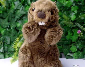 Groundhog Stuffed Animal Plush Toy