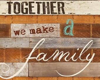 MA1000 - Together we make a family