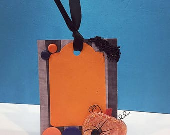 Tags - Halloween Tags - October Tags - Blank Tags - Handmade Card Stock Tags - Gift Tags - Party Favor Tags - Scrapbook Tags - Card Making