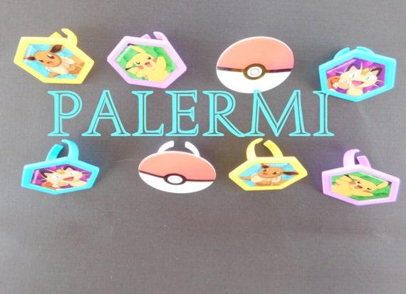 Pokemon Ring Cupcake Toppers