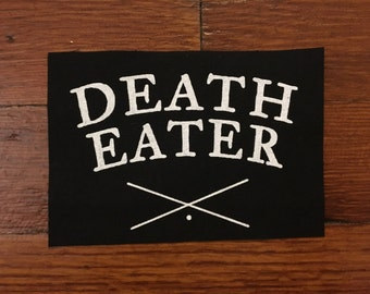 Death Eater Cloth Patch Harry Potter