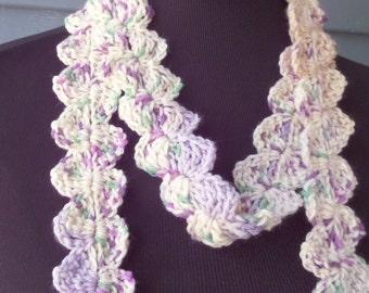 PATTERN S-064 / Crochet Pattern / Susie Scarf ... DK 100 yards