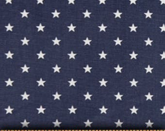 "Premier Prints Fabric-Mini Star-Blue-or-Choice of 23 Colors -54"" wide-Decorator Cotton-Fabric By The Yard"