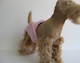 POOCHIE PANTZ light pink female dog diaper, custom made, all sizes
