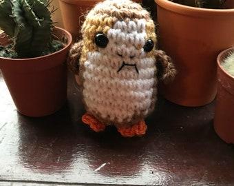 Tiny Crochet Porg