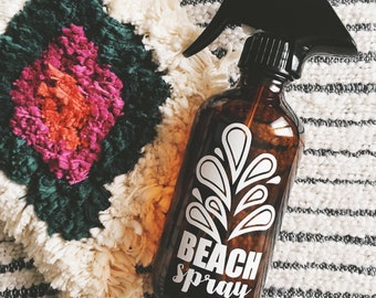 1 glass bottle BEACH SPRAY for your essential oil blends!