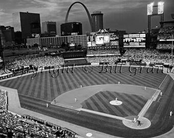 Busch Stadium in St. Louis Missouri - Fine Art Photograph 5x7 8x10 11x14 16x20 24x30