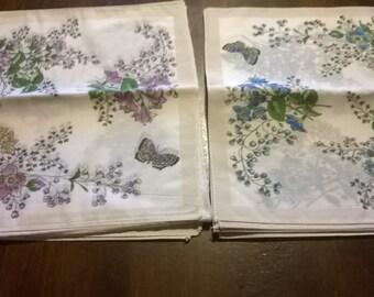 Set of 12 handkerchiefs