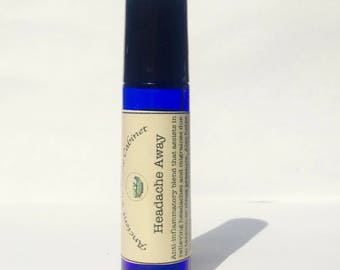 Headache Away Essential Oil  Aromatherapy Roll On 10 ml Young Living