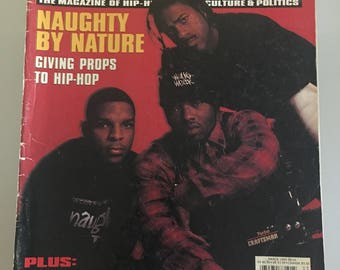 The Source Magazine 1993 Naughty By Nature Paris Brand Nubian Snoop Doggy Dogg