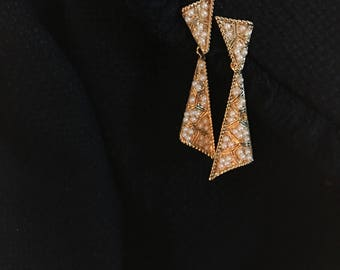 Vintage D'orlan Clip-on Earrings