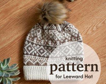 PATTERN: Leeward Hat